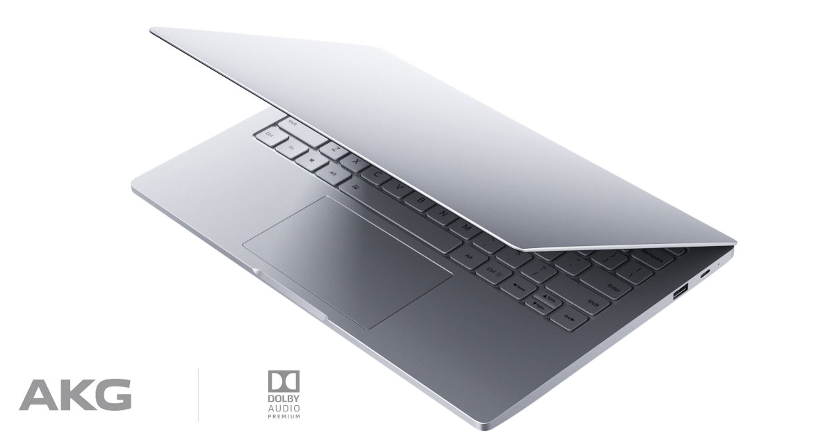 Xiaomi Mi Notebook Air z AKG avdio sistemom