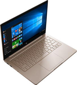 Xiaomi Mi Notebook Air in Windows 10