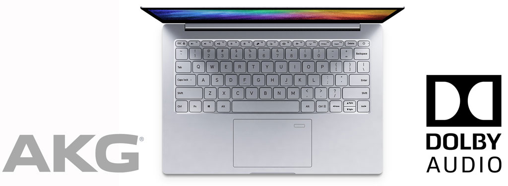 Xiaomi Mi Notebook Air 13.3 z AKG z Dolby Audio Premium zvokom
