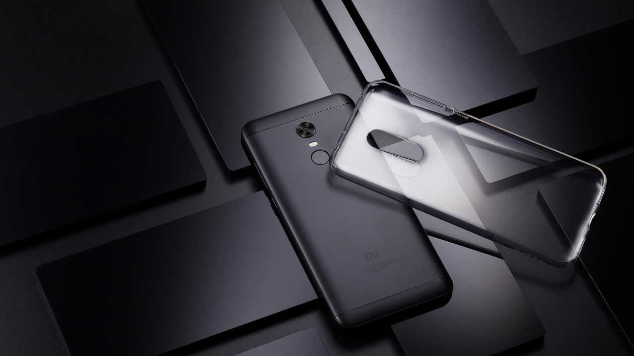 TPU ovitek in Xiaomi Redmi 5 Plus