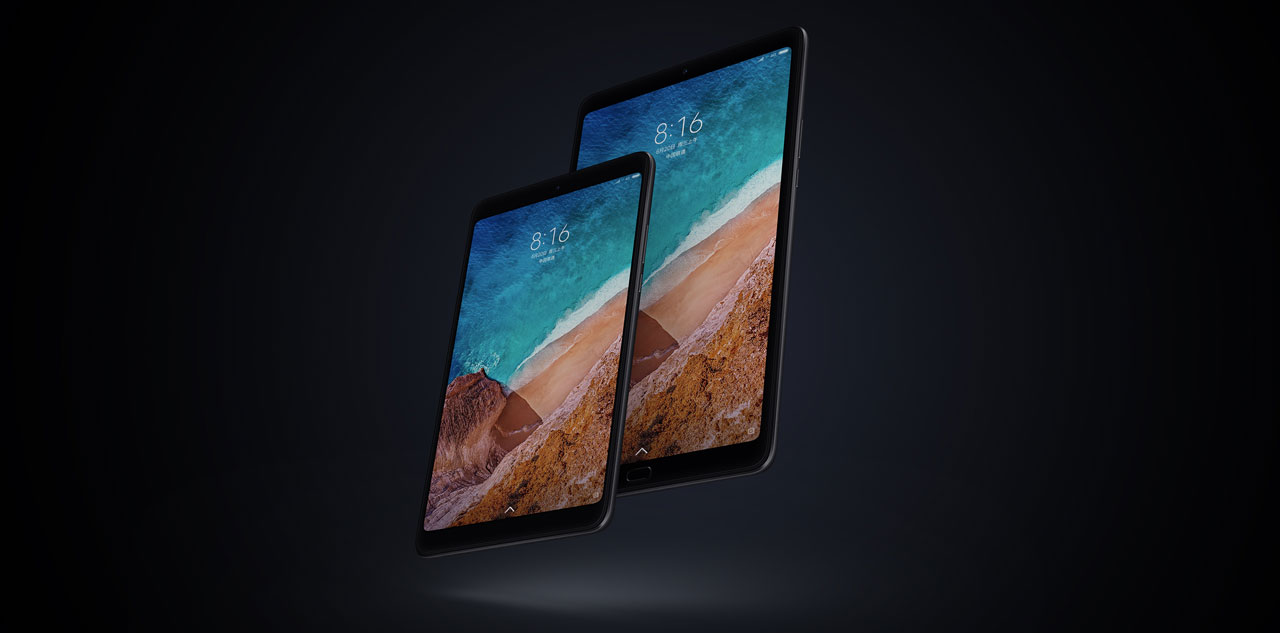 Xiaomi Mi Pad 4 in Mi Pad 4 Plus