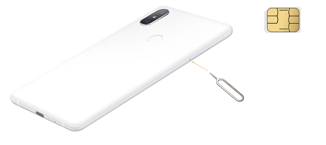 Xiaomi Mi MIX 2S in SIM zatič