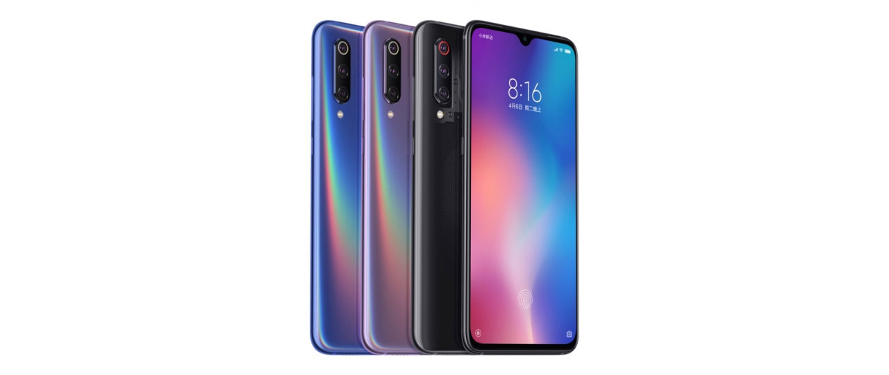 Mi 9 in Mi 9 Transparent Edition
