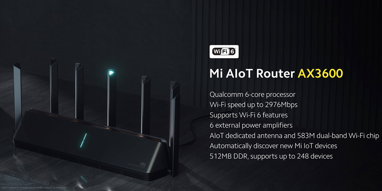 Router Wi-Fi 6