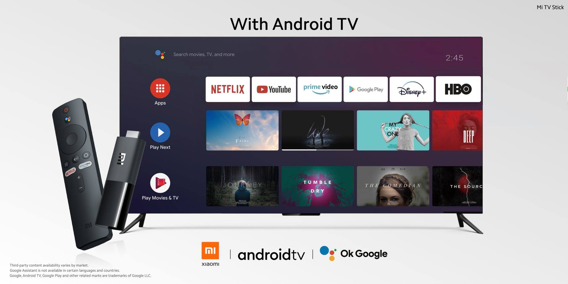 Android TV ključek
