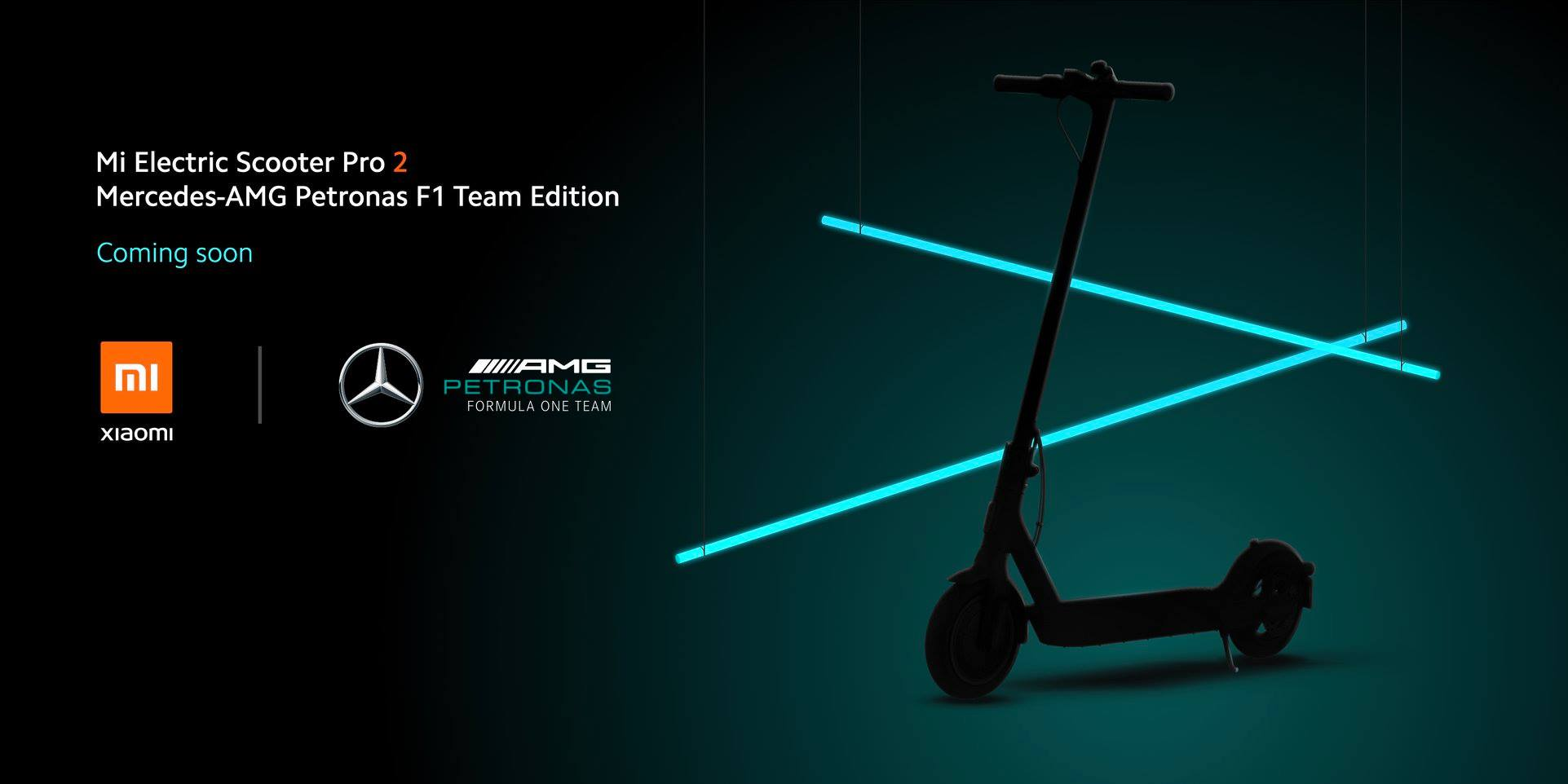 Mi Electric Scooter 2 Pro Mercedes AMG Petronas Edition