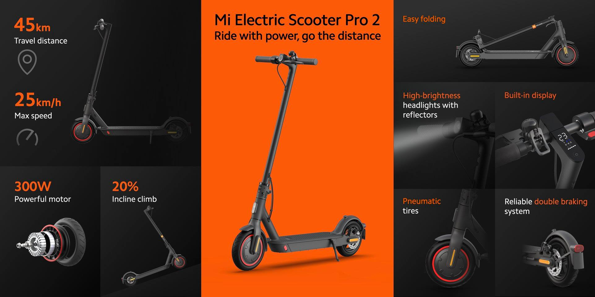 Mi Electric Scooter 2 Pro